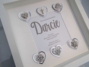 Daughter's First Holy Communion Gift Frame